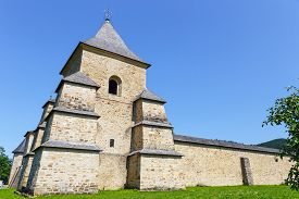 picture of suceava  - The Sucevita Monastery is a Romanian Orthodox monastery situated in the commune of Sucevita Suceava County Moldavia Romania - JPG