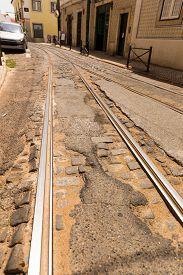 picture of tram  - Tram - JPG