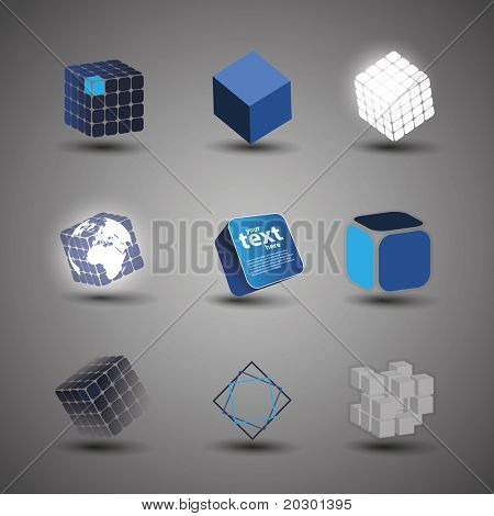 Collection Of Cube Designs