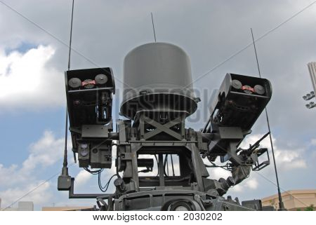 Mobile Missile System In The Army Camps