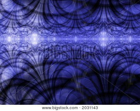 Abstract Background Blue Light Horizon