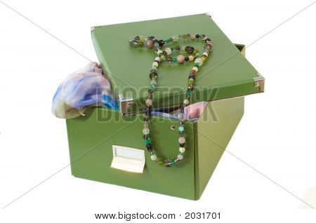 Box And Glassbeads