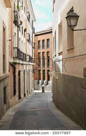 Down town architecture, Madrid, Spain