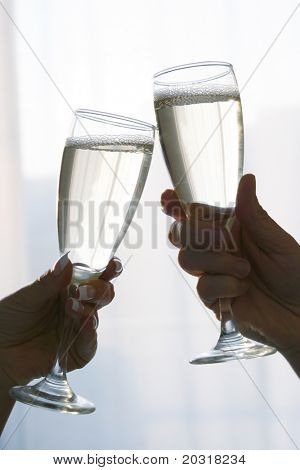 champagne toast