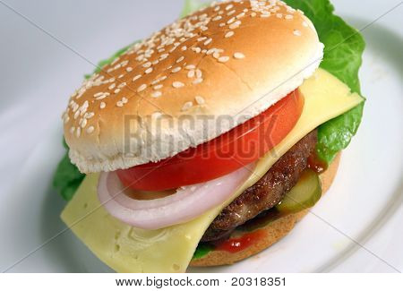 juicy burger
