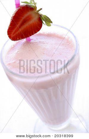 leckere Erdbeer-Milchshake