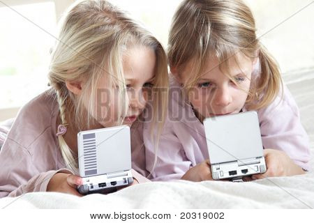 playing video-games