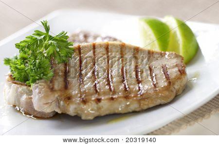 grilled pork fillet