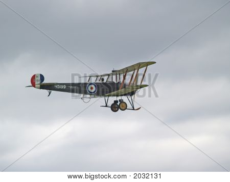 Avro 504K Flying