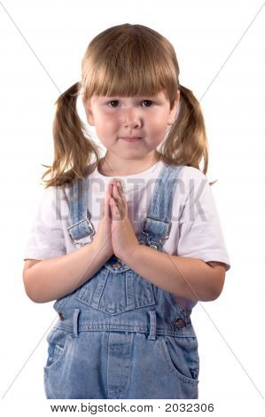 Awesome Little Girl Praying For...