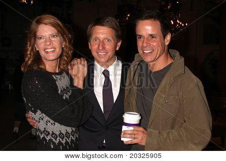 LOS ANGELES - Mai 17: Michelle Stafford, Bill Bell, Christian LeBlanc auf Fett & wunderschönen Celeb