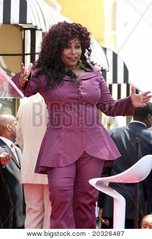 LOS ANGELES - MAY 19:  Chaka Kahn at the Chaka Kahn Hollywood Walk of Fame Star Ceremony at Hollywood Blvd on May 19, 2011 in Los Angeles, CA.