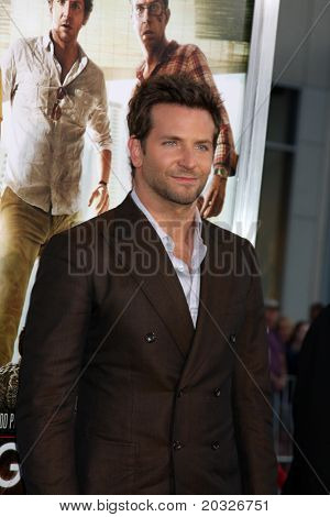 "LOS ANGELES - MAY 19:  Bradley Cooper arriving at the ""The Hangover Part II""  Premiere at Grauman's Chinese Theater on May 19, 2011 in Los Angeles, CA"