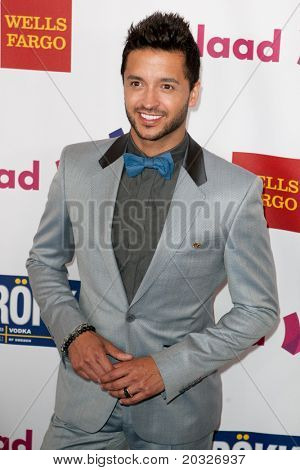 LOS ANGELES - APR 10: Jai Rodriguez arrives at the 22nd annual GLAAD Media Awards at Westin Bonaventure Hotel on April 10, 2011 in Los Angeles, CA.