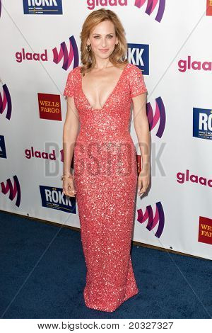 LOS ANGELES - APR 10: Marlee Matlin arrives at the 22nd annual GLAAD Media Awards at Westin Bonaventure Hotel on April 10, 2011 in Los Angeles, CA.