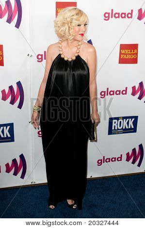 LOS ANGELES - APR 10: Tori Spelling arrives at the 22nd annual GLAAD Media Awards at Westin Bonaventure Hotel on April 10, 2011 in Los Angeles, CA.