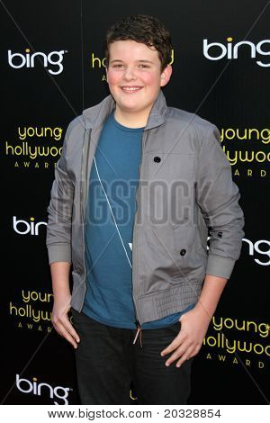 LOS ANGELES - MAY 20:  Riley Griffiths arriving at the 2011 Young Hollywood Awards at Club Nokia at LA Live on May 20, 2011 in Los Angeles, CA
