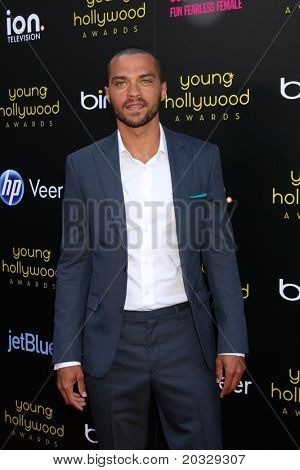 LOS ANGELES - MAY 20:  Jesse Williams arriving at the 2011 Young Hollywood Awards at Club Nokia at LA Live on May 20, 2011 in Los Angeles, CA