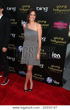 LOS ANGELES - 20 de maio: Rachel Specter chegando ao Young Hollywood Awards 2011 no Club Nokia em L