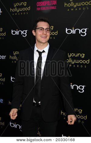 LOS ANGELES - MAY 20:  Dan Levy arriving at the 2011 Young Hollywood Awards at Club Nokia at LA Live on May 20, 2011 in Los Angeles, CA