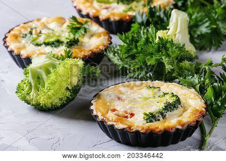 Baked homemade vegetable