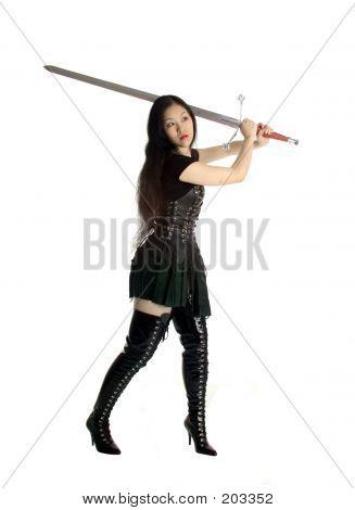 Asian Warrior Princess poster