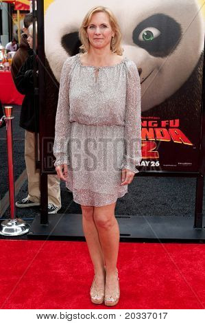 HOLLYWOOD, CA. - MAY 22: Melissa Cobb arrives at the Los Angeles premiere of Kung Fu Panda 2 at Grauman's Chinese Theatre on May 22, 2011 in Hollywood, California.