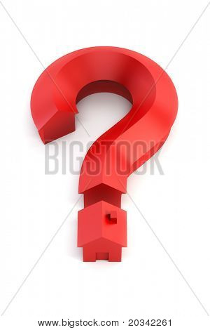The house in the form of a question mark