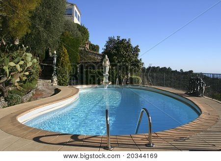 Swimming Pool on the French Riviera