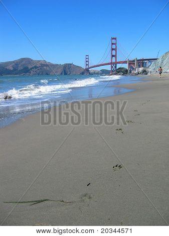 Golden Gate Bridge from Bakers Beach