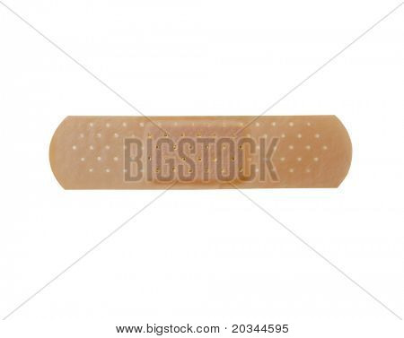 Bandage isolated on pure white background