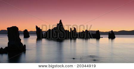 Tufas at Sunrise, Mono Lake, California