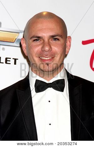 LAS VEGAS - MAY 22:  Pitbull in the Press Room of the 2011 Billboard Music Awards at MGM Grand Garden Arena on May 22, 2010 in Las Vegas, NV.