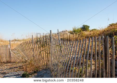 Fence Beside Beach