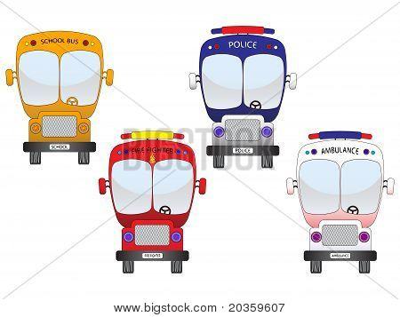 City Vehicles Set