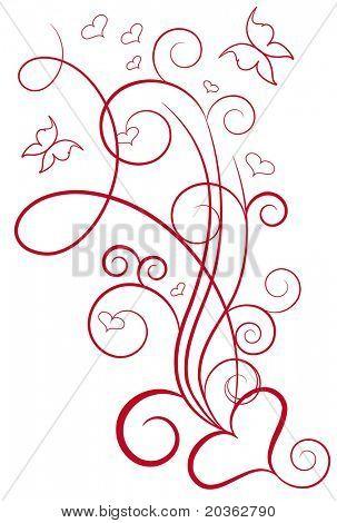Diseño elegante de San Valentín