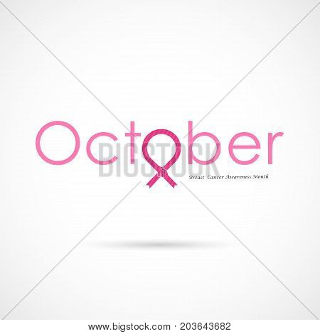 Breast Cancer October Awareness Month Campaign Background Women