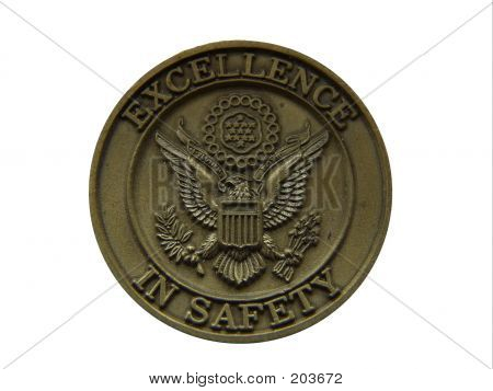 Excellence In Saftey Coin W