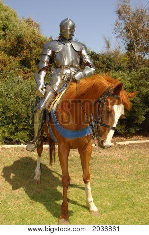 Cavaleiro no cavalo Vertical
