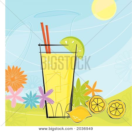 Retro Summer Lemonade