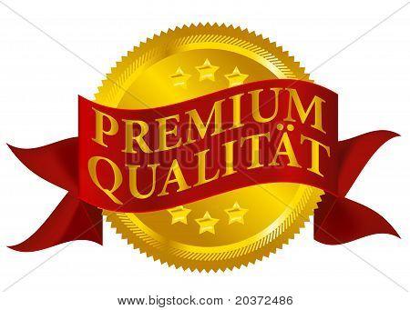 Premium Quality Seal - German Version