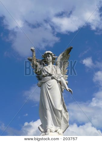 Angel With Clouds