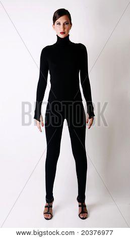 fashion photo of a beautiful woman