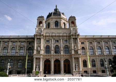 Vienna Landmark - Museum Building
