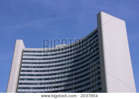 Uno City Building In Vienna