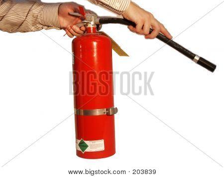 Hands On Extinguisher