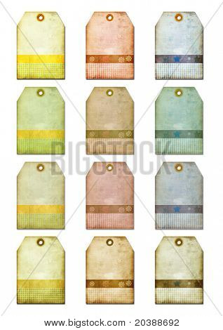 gift tags-labels for scrap-booking