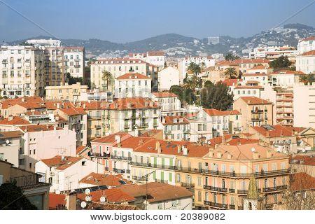 zona residencial en Cannes, Francia, Unión Europea