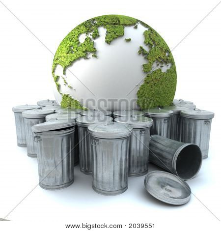 Earth In The Garbage