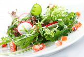 pic of rocket salad  - salad - JPG